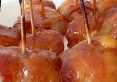 Spicy Bacon-Wrapped Water Chestnuts II
