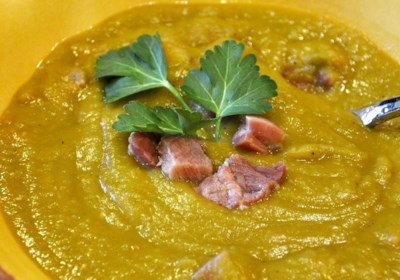 Split Pea Smoked Turkey Soup