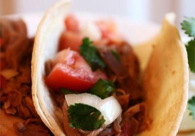 Sweet Pork for Burritos