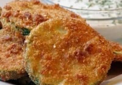 Kelli's Fried Green Zucchini