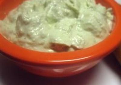 Creamy Avocado-Ranch Dip