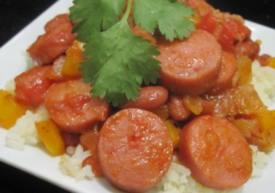 Quick and Easy Red Beans and Rice