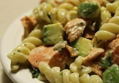 Smoked Salmon Pasta with Scotch