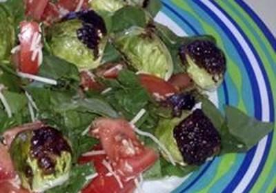Aunt Karen's Brussels Sprouts Salad
