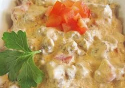Emily's Easy Sausage and Spicy Tomato Dip