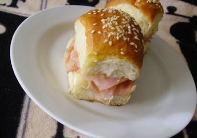 Jen's Mini Ham and Cheese Rolls