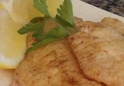 Brown Butter Perch