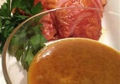 Brown Sugar and Mustard Ham Glaze