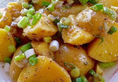 Light and Easy Greek Potato Salad
