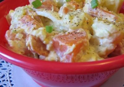 Sweet Potato Potato Salad