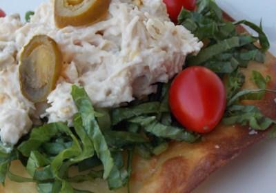 Twisted Chicken Salad with Tostadas