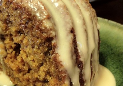 Nutty Graham Cake