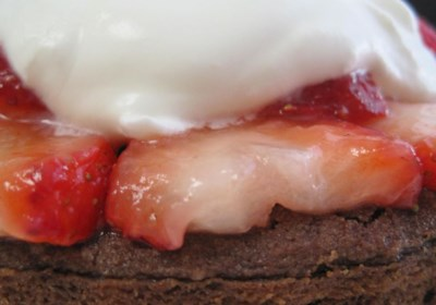 Big D's Chocolate Strawberry Shortcake