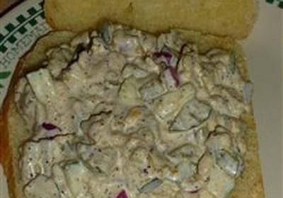 Tempeh Mock Tuna Salad