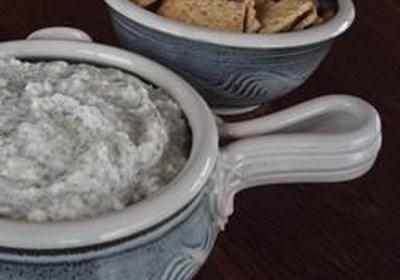 Dill, Feta and Garlic Cream Cheese Spread