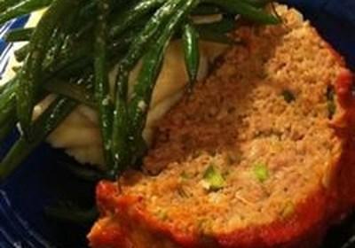 Chris's Incredible Italian Turkey Meatloaf