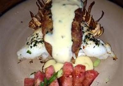 Cheesy Stuffed Lobster