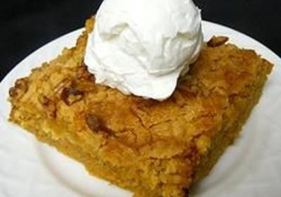 Rich Pumpkin Dessert