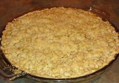 Sour Cream Pear Pie
