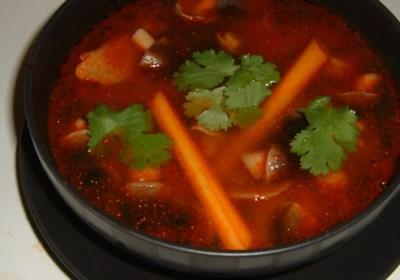 Tom Yum Koong Soup
