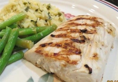 Garlic-Lemon Mahi Filets
