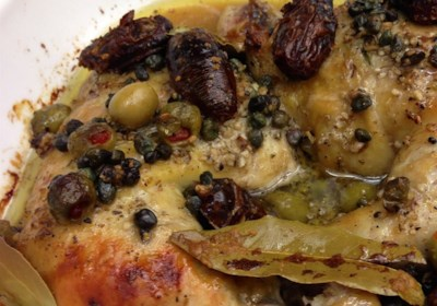 Prune and Olive Chicken