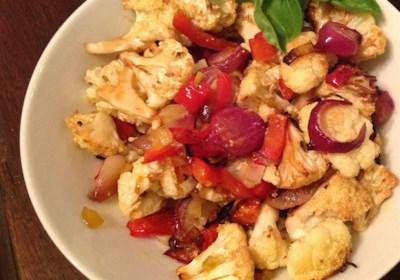 Italian Roasted Cauliflower
