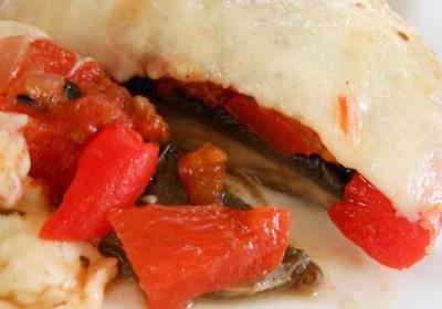 Grilled Portobello and Mozzarella