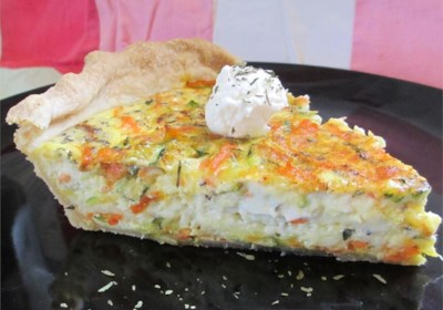 Nana's Zucchini Quiche