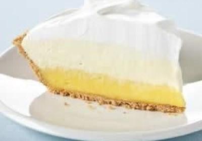 Kraft® Triple-Layer Lemon Pie