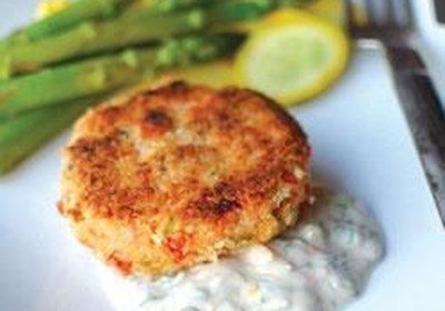 Salmon Cakes by Melt® Buttery Spread