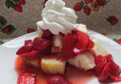 Short Cut Strawberry Short Cakes