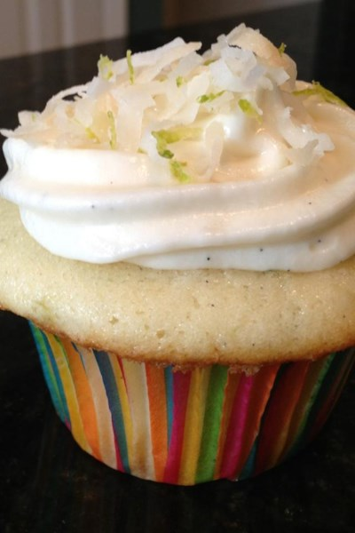 Coconut-Lime Cupcakes