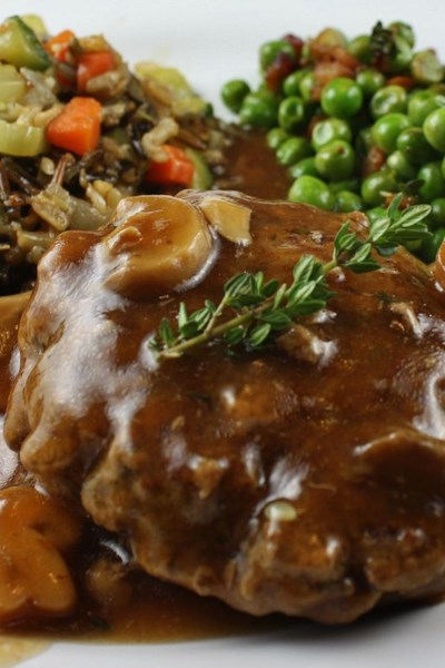 Salisbury Steak with Mushrooms