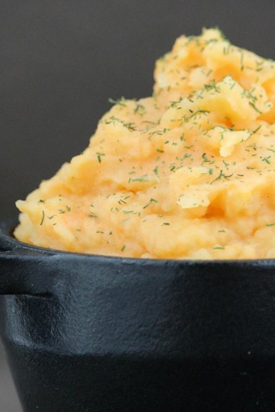 Fall-Infused Mashed Potatoes