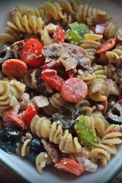 Greek Pasta Salad I