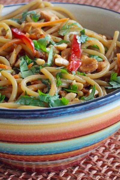 Thai-Inspired Noodle Salad