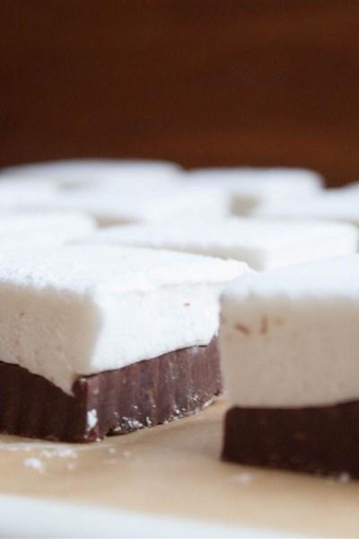Double-Decker Marshmallow Fudge