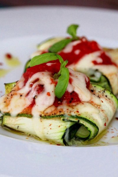 Zavioli with Spinach and Ricotta