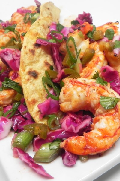 Grilled Spicy Shrimp Tacos