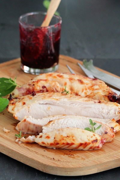 Olive-Brined Air-Fryer Turkey Breast