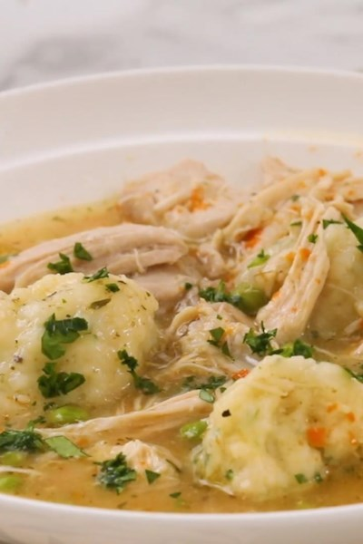 Instant Pot® Chicken and Dumplings