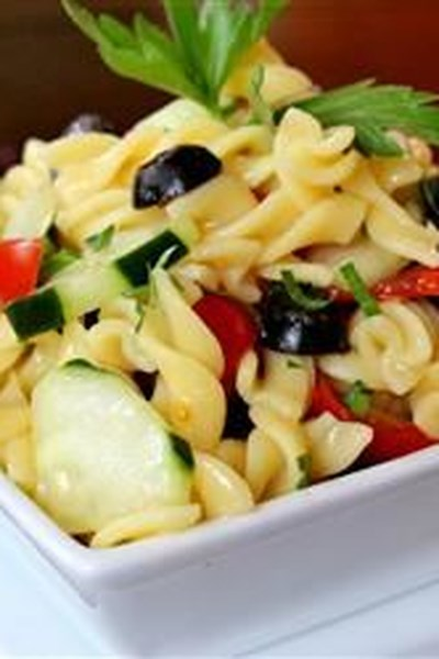 Easy Cold Pasta Salad