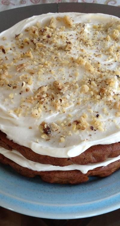 A Memorial Day Carrot Cake Recipe