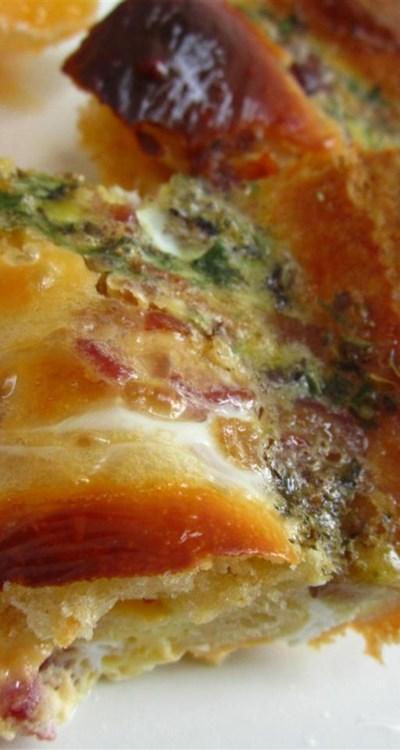 Egg and Sausage Casserole