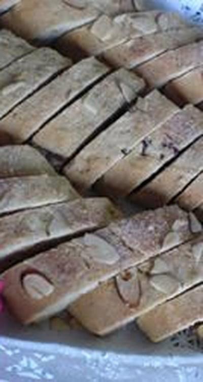 Passover Chocolate Mandelbrot