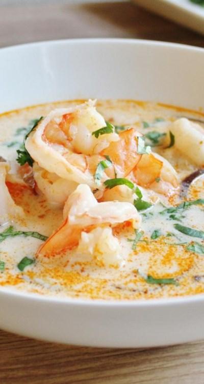 The Best Thai Coconut Soup