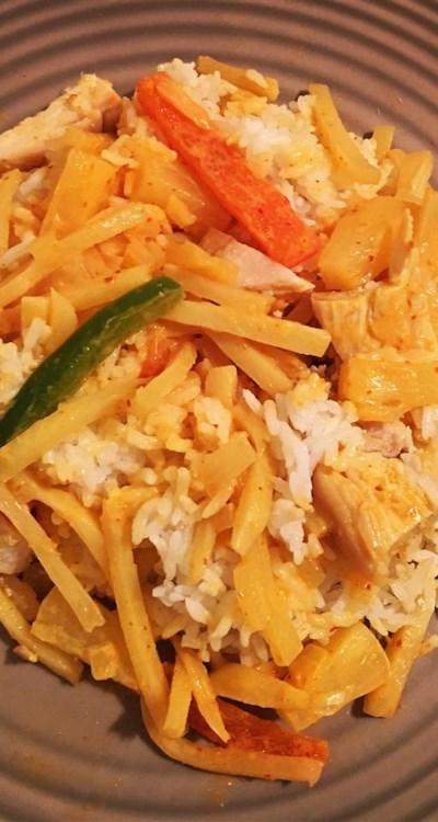 Thai Pineapple Chicken Curry