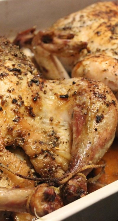 Roasted Lemon Herb Chicken