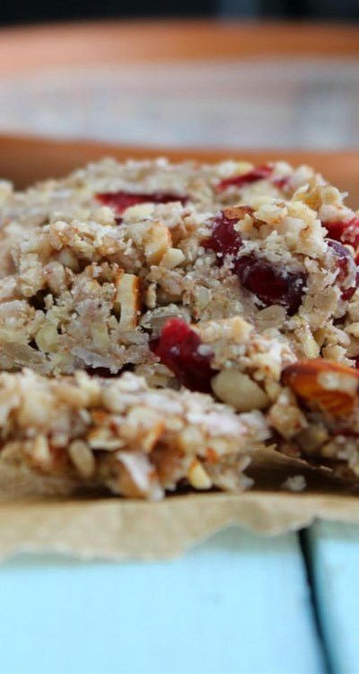Oat-Free and Gluten-Free Granola Bars (Clean Eating)